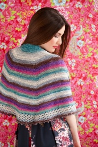[Garter ridge Shawl by Rachel Roden] from Knit Noro 1 2 3 Skeins, published by Sixth&Spring Books. Photography by Rose Callahan and text copyright © 2014 by Sixth&Spring Books. Used by permission