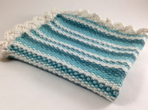 Scalloped Edge Dish Cloth
