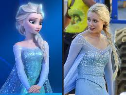 Elsa from Frozen and OUAT.